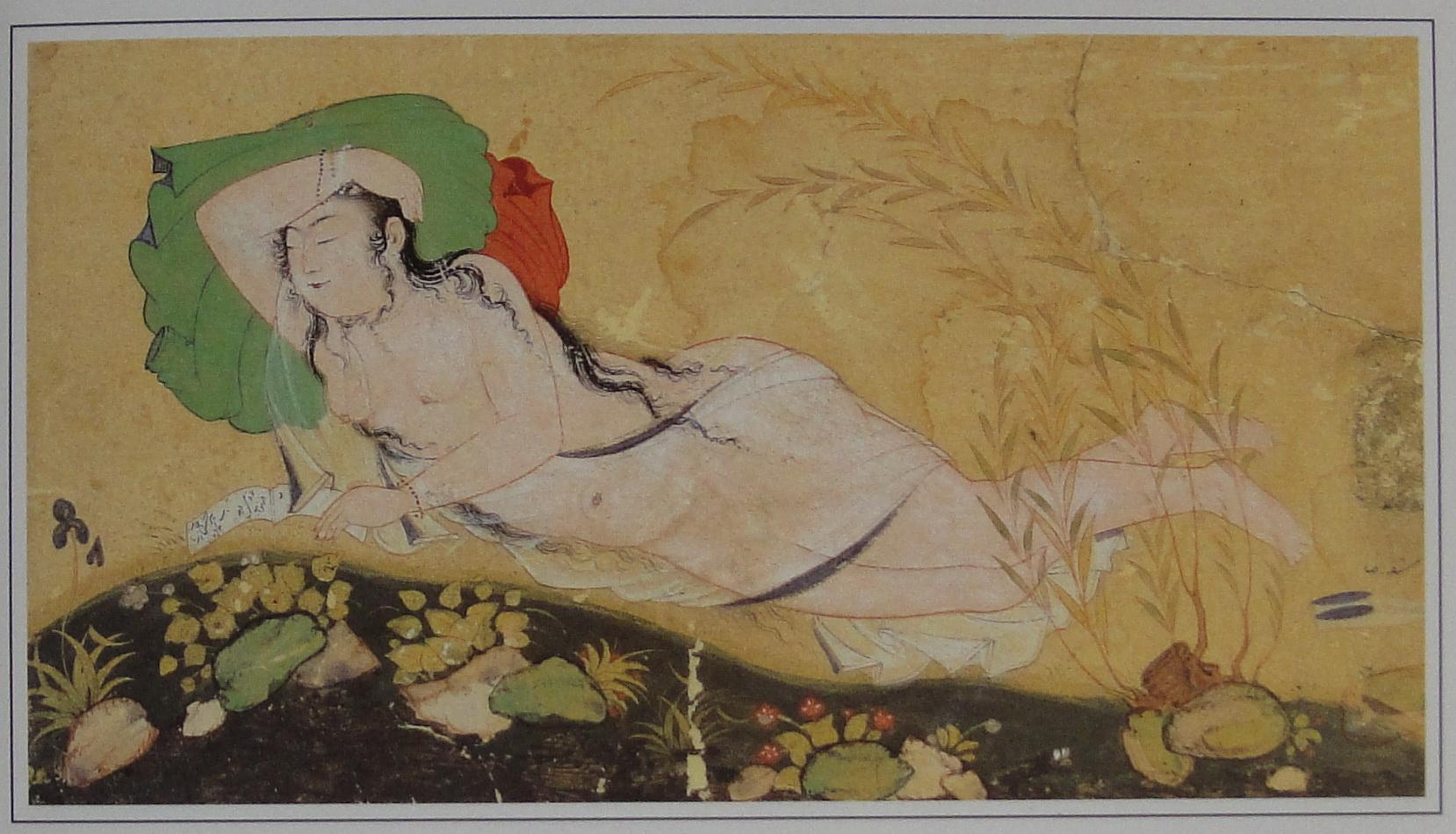 miniatures of Reza Abbasi