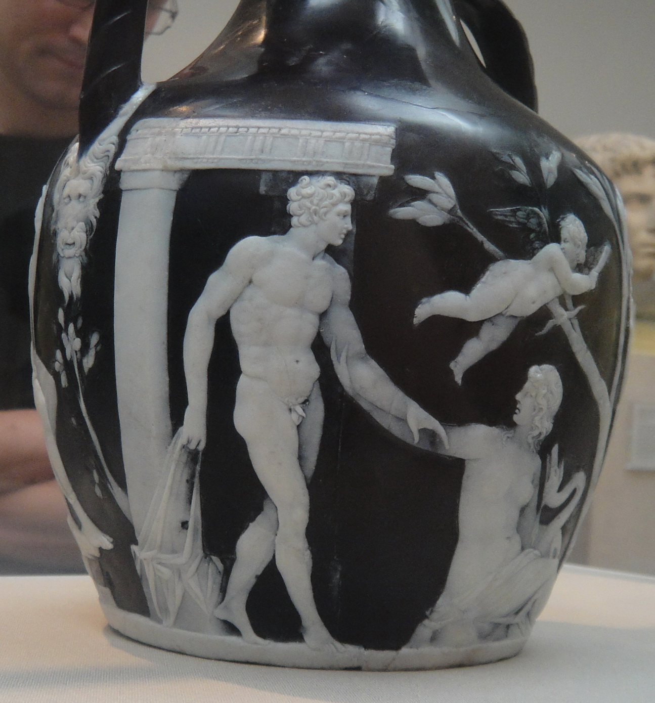 Portland vase notes on the cultured life a piece of virtuouso roman glass cameo unmatched by modern efforts to reproduce it the northwood vase at the corning cracked in firing recorded since reviewsmspy
