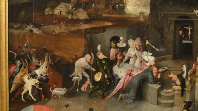 Afbeeldingsresultaat voor temptation of saint anthony bosch