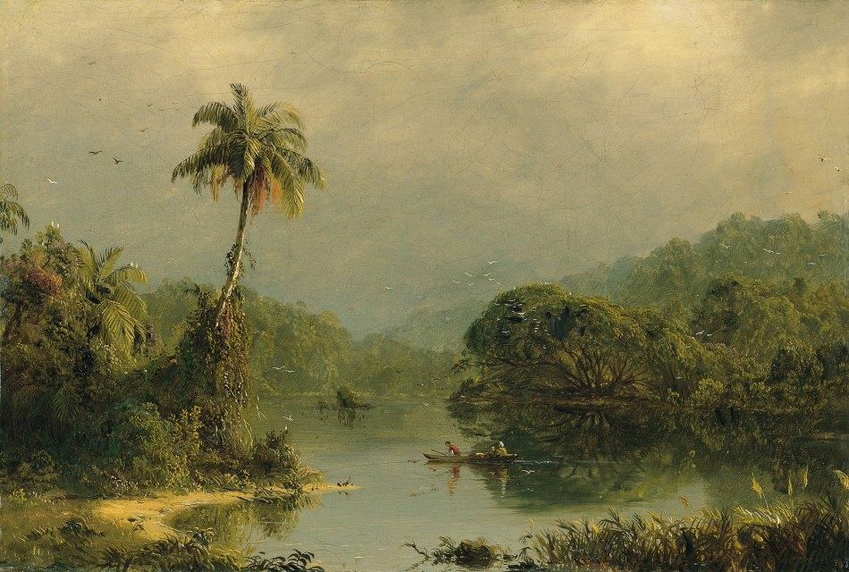 Thyssen - tropical landscape
