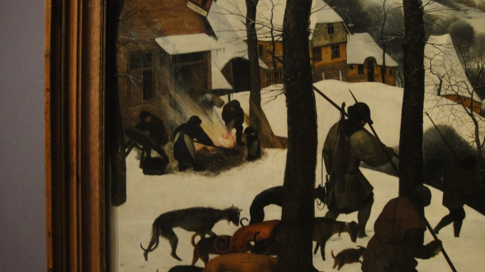 Breughel - Hunter's in Winter (2)