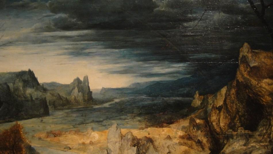 Breughel - Return from pasture (3)