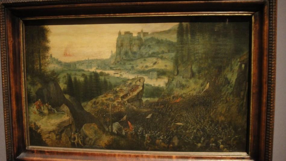 Breughel - Saul's suicide (1)