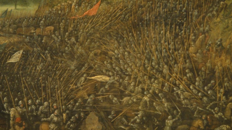 Breughel - Saul's suicide (2)