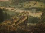 Breughel - Saul's suicide (7)