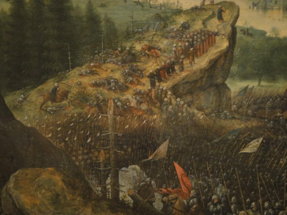 Breughel - Saul's suicide (9)