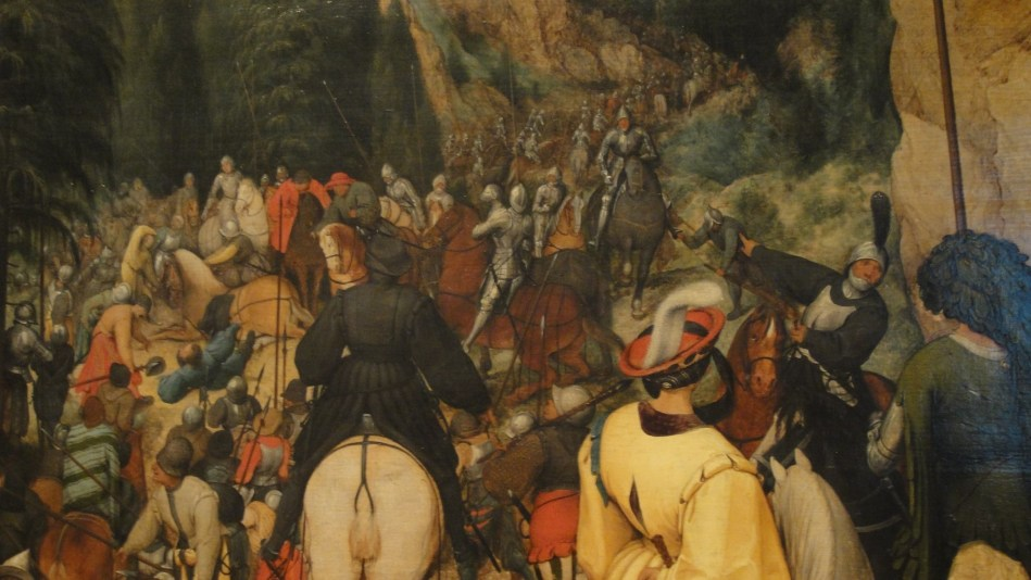 Breughel - St Paul on the way to damascus (3)