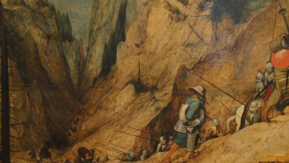 Breughel - St Paul on the way to damascus (5)