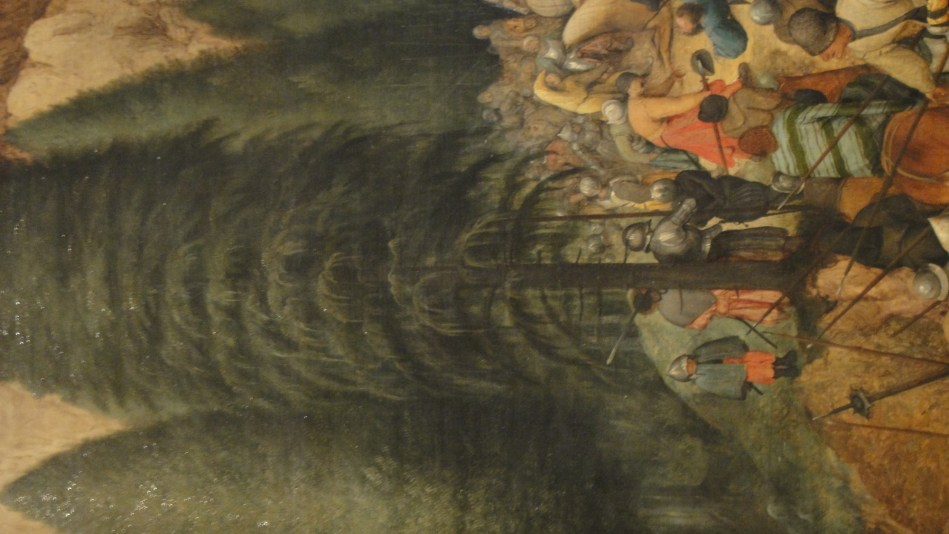 Breughel - St Paul on the way to damascus (6)